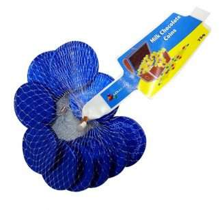 Blue-Chocolate-coing-75g