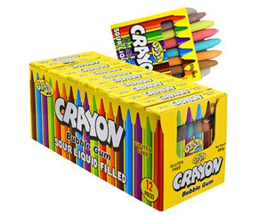 crayon bubble gum 55g