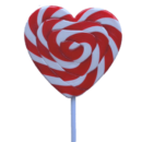 Lollipops Mega Red Heart 85g