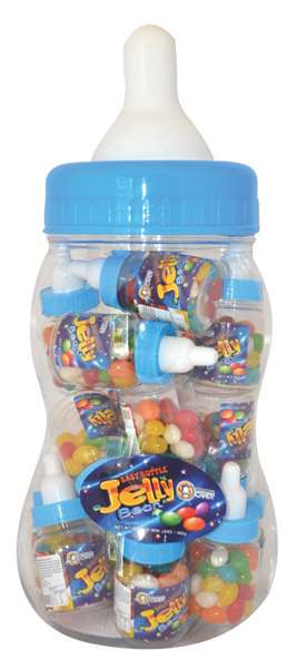Jelly Bean Mix Baby Bottle Blue 800g