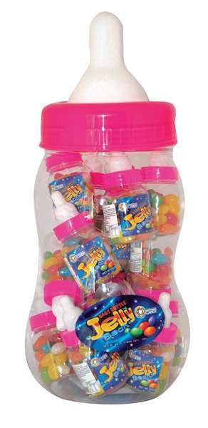 Jelly Beans Mix Baby Bottle Pink 800g