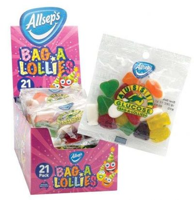 Bag A Lollies 21 x 65g