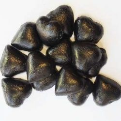 Chocolate Hearts Black 500g