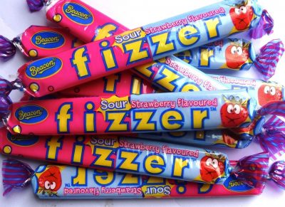 Fizzers Sour Strawberry 36 Pack