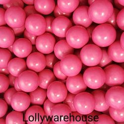 Choc Balls Pink / Strawberry Flavour 1kg