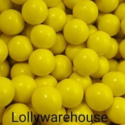 Choc Balls Yellow 1kg