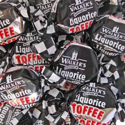 Licorice Toffee Walkers 500g