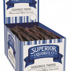 Licorice Twists Black Superior 2.5kg