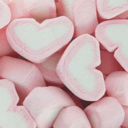Marshmallows Hearts Strawberry 1kg