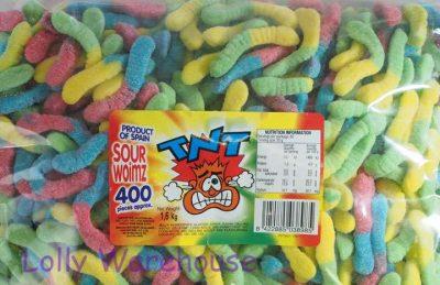 Sour Worms TNT 1.6kg