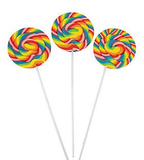 Lollipops Swirlpops Rainbow 288g