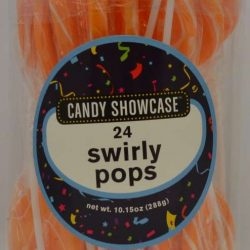 Lollipops Swirlpop Orange 288g