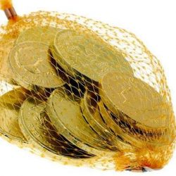Milk Chocolate Coins Bag 75g