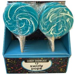 Lollipops Swirly Blue 480g