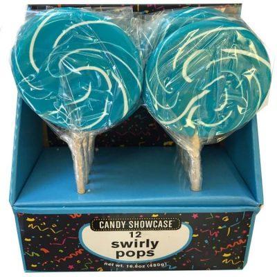 Lollipops Swirly Blue 480g