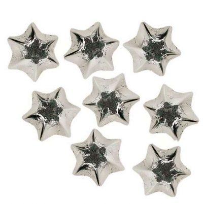 Chocolate Stars Silver 400g