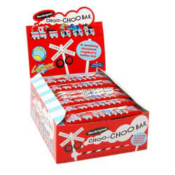 Choo-Choo Bar Raspberry 50 Pack