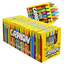 Crayons Bubble Gum Pack 55g