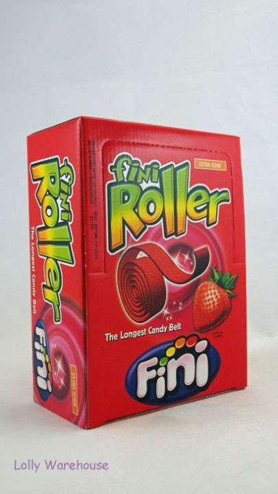 Fini Rollers Strawberry 40 Pieces
