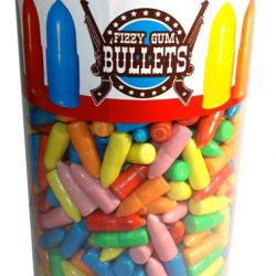 Fizz Gum Bullets Tub Vidal 1.89kg