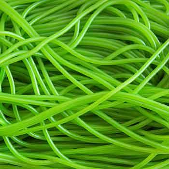 Strings Licorice Green Apple 200g