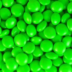 Choc Buttons Green 1kg