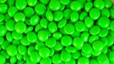 Choc Buttons Green 1kg