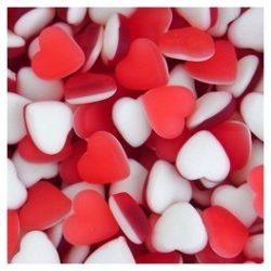Haribo Hearts Throbs 500g