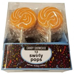 Lollipops Swirly Orange 480g - BB 25 Mar 20