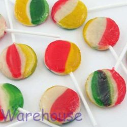 Lollipops Rainbow Pops Large 100
