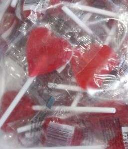 Lollipops Red Heart 100
