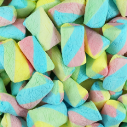 Marshmallows Rainbow Twist 1kg