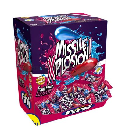 Missle Xplosion Bubble Gum 200 Pcs