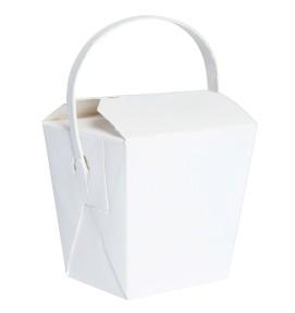 Noodle Pails White Boxes 25 pack