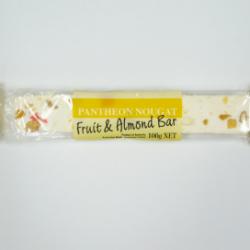 Nougat Fruit & Almond Bar 100g