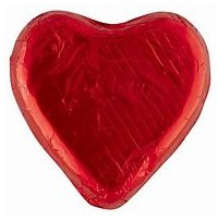 Chocolate Hearts Red 30g - 5 Pack