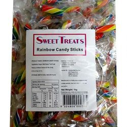 Candy Sticks Rainbow 1kg