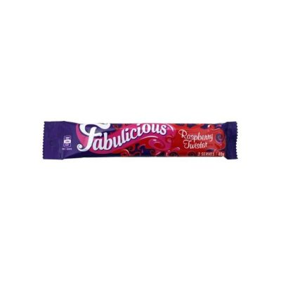 RJ's Fabulicious Raspberry Twister 6 Pack 250g