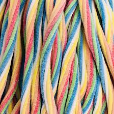 Sour Multicolour Twists 550g