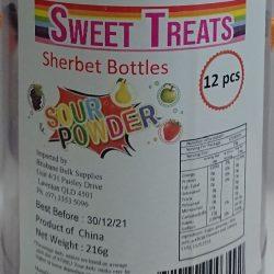 Sour Sherbet Bottles 12 Pcs