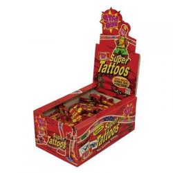 Super Tattoos 200 Pieces Box