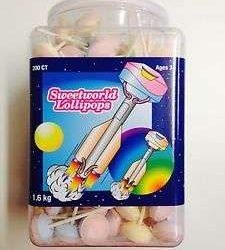 Sweetworld Lollipops 200