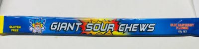 TNT Giant Sour Chews Blue Raspberry 6 pack