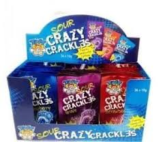 TNT Sour Crazy Crackles 36 Pack