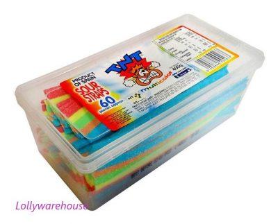TNT Sour Straps Multicolour 400g
