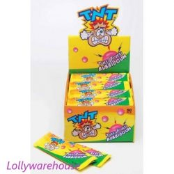 TNT Tutti Frutti Bubblegum Sticks 450g