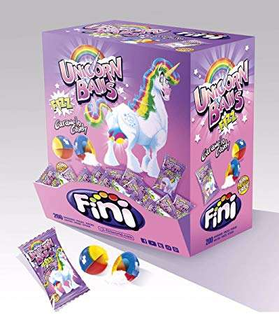 Unicorn Balls Fizzy Candy 200's