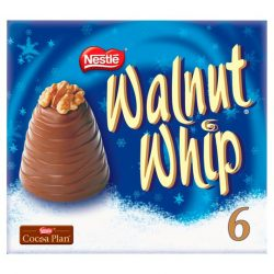 Nestle Walnut Whip 6 pack 180g
