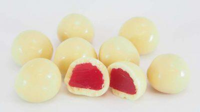 Choc Raspberries White 500g Everfresh