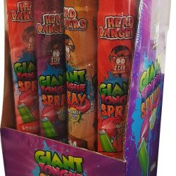 Giant Tongue Spray Red Strawberry x1 Unit